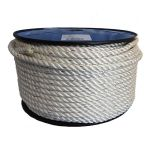 8mm Pre-stretched Polyester Rope - 100m reel
