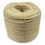 6mm Sisal Rope sold on a 220m coil