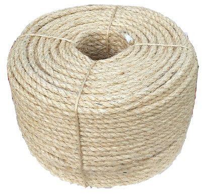 Sisal rope by the coil