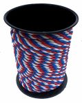 14mm Red White & Blue Yacht Rope - 100m reel